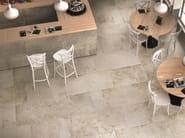 Rivestimento / pavimento in gres porcellanato a tutta massa STONE AGE Chianca - Italgraniti