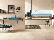 Indoor white-paste wall tiles STONE PLAN WALL Beige - Impronta Ceramiche by Italgraniti Group
