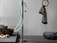 White-paste mosaic STONE PLAN WALL Bianco - Impronta Ceramiche by Italgraniti Group