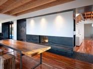 Double-sided wood-burning built-in fireplace STÛV 21-85 DF - Stûv