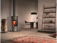 Wood-burning swivel stainless steel stove STÛV 30 - Stûv