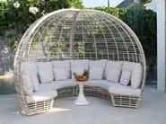 Divano imbottito a igloo da giardino SUNDAY 23281 - SKYLINE design