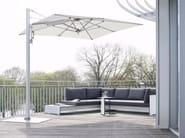Offset rectangular Garden umbrella SUNSHADE LOUNGE - conmoto by Lions at Work