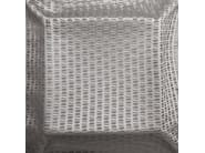 Fabric with graphic pattern for curtains SUOMI PIEDRA - Equipo DRT