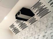 Melamine decorative acoustical panels SUPER BASS EXTREME MEL - Vicoustic by Exhibo