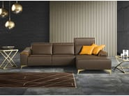 Sectional sofa with chaise longue SUZETTE | Sectional sofa - Egoitaliano