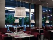 LED pendant lamp SYRA 60 - BOVER Il. Luminació & Mobiliario