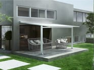 Motorized sliding aluminium awning GENNIUS TENS - KE Outdoor Design