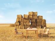 Rectangular teak garden table TABULUS TEAK | Table - solpuri