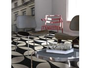 Glazed stoneware flooring TANGLE | Flooring - ORNAMENTA