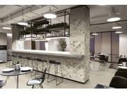 Indoor glazed stoneware wall tiles TANGLE WARM | Wall tiles - ORNAMENTA