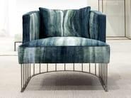 Upholstered fabric easy chair TENTAZIONE - ERBA ITALIA