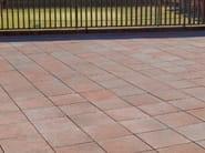 Cement outdoor floor tiles TESSERA BICOLOR - SAS ITALIA - Aldo Larcher