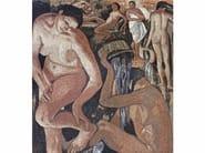 Marble mosaic THE BATH II – OMAGGIO A SEREBRIAKOVA - Lithos Mosaico Italia - Lithos