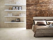 Porcelain stoneware wall/floor tiles with marble effect THRILL ROCK - La Fabbrica