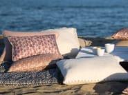 Rectangular silk cushion with removable cover TIPI - Élitis