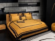 Leather storage bed with upholstered headboard TL 240 | Double bed - Tonino Lamborghini Casa