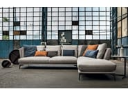 Sectional sofa with chaise longue TORTONA | Sectional sofa - Max Divani