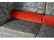 Modular high-back fabric sofa TOSCA - VGnewtrend