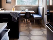 Motif stone effect floor wallpaper TRACES - Inkiostro Bianco