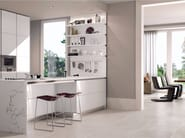 Full-body porcelain stoneware flooring TRACKS   Flooring - Ceramiche Marca Corona