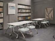 Sedia da conferenza con braccioli FREE | Sedia da conferenza - Emmegi