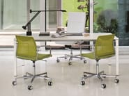 Swivel fabric task chair with 5-Spoke base FRAME | Task chair with 5-Spoke base - Emmegi