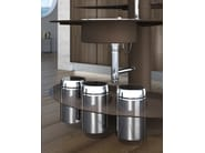 Lacquered fitted kitchen TREESTYLE - Oikos Cucine