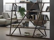 Open freestanding bookcase TRES - Pacini & Cappellini
