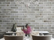 Porcelain stoneware wall tiles with brick effect TRIBECA | Wall tiles - Ceramica Rondine
