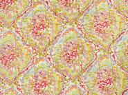 Embroidered printed cotton fabric TROPICAL REEF - Aldeco, Interior Fabrics