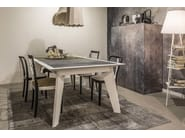 Rectangular dining table TV-1C - MOMENTI di Bagnai Matteo