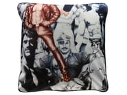 Square cushion with removable cover UNTITLED - ART40 - HENZEL STUDIO