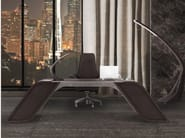Wooden executive desk with drawers V004/C | Office desk - Aston Martin by Formitalia Group