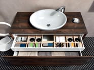 Wall-mounted vanity unit with drawers V52 - Mobiltesino