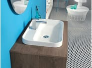 Oak bathroom furniture set V64 - Mobiltesino