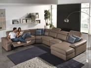 Sectional relaxing sofa VALERIE | Sectional sofa - Egoitaliano