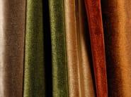 Solid-color velvet fabric SILK VELVET - l'Opificio
