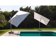 Adjustable square Garden umbrella VENERE - Talenti