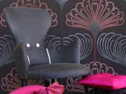 Jacquard fabric with graphic pattern VERTIGO TRIANGLE - l'Opificio