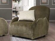 Upholstered velvet armchair VICTORIA - Formitalia Group