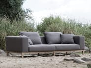 Upholstered 3 seater fabric sofa VINCENT - SITS