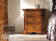 Solid wood bedside table VIVRE LUX | Bedside table - Arvestyle