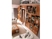 Sectional solid wood storage wall WALL | Sectional storage wall - Caroti