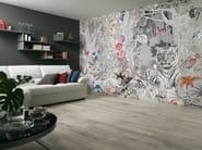 Relief panoramic nonwoven wallpaper WALLPAPER LUX JUNGLE FEVER - AVA Ceramica by La Fabbrica