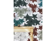 Wallpaper with floral pattern FLOWER - Wallpepper