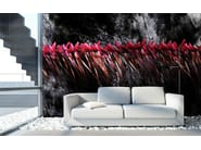 Wallpaper RED WALLFLOWERS - Wallpepper