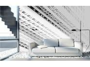 Wallpaper WHITE BUILDING 1 - Wallpepper