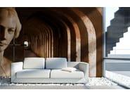 Trompe l'oeil wallpaper LA ZONA D'OMBRA - Wallpepper