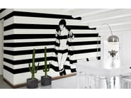 Striped wallpaper MARE D'INVERNO - Wallpepper